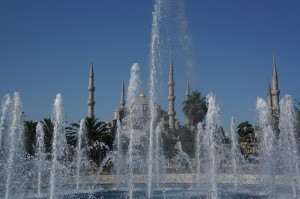 Blue Mosque с площади. Неописуемая красота